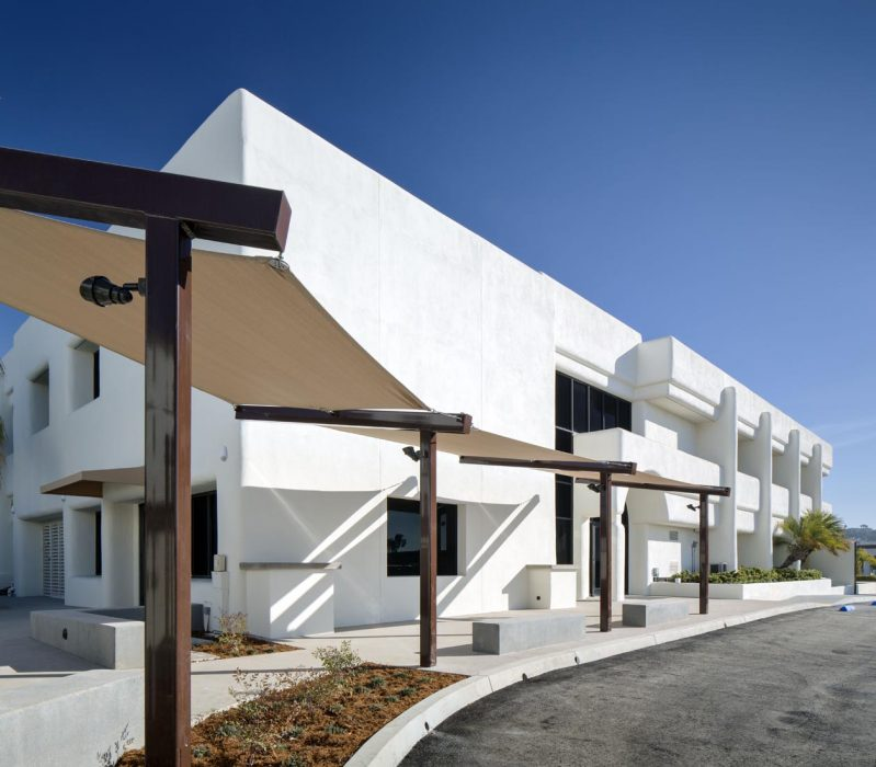 Renovation of office building for SDGE OCCO in San Clemente, CA completed by PRAVA Construction of Carlsbad, California.